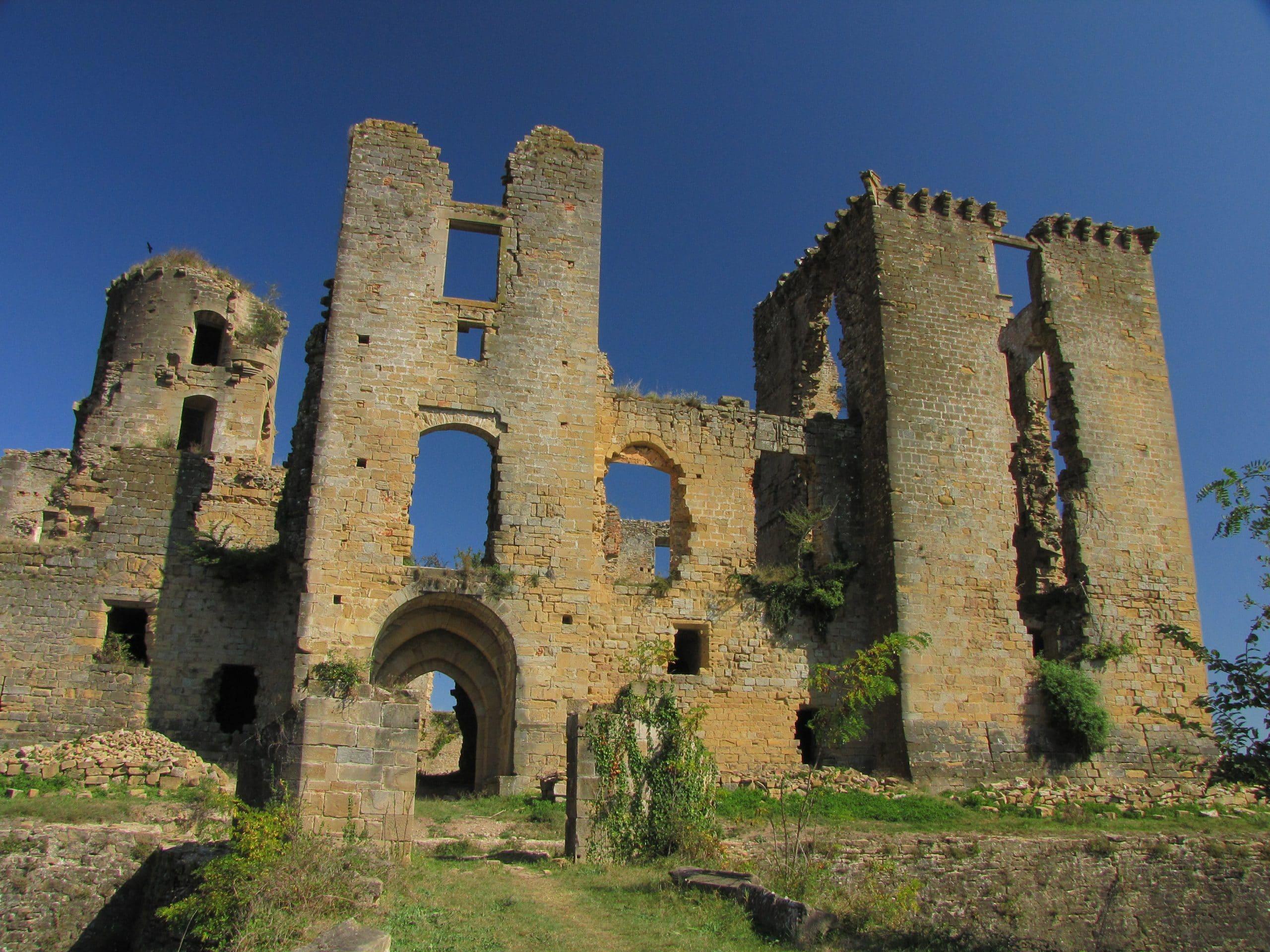 Château de Lagarde ; Ariège ; Mii-Pyrénées